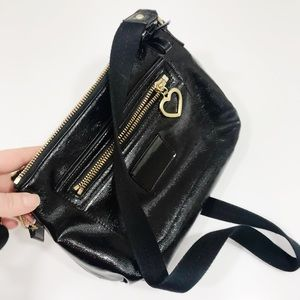 Coach | Patent Crossbody with Gold Hardware